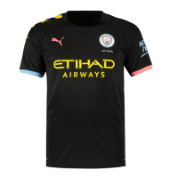 19-20 Manchester City Away Black Jerseys Shirt