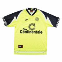 95/96 Borussia Dortmund Home Yellow&Black Soccer Jerseys Shirt
