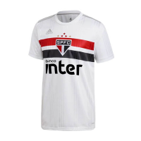 20/21 Sao Paulo Home White Soccer Jerseys Shirt