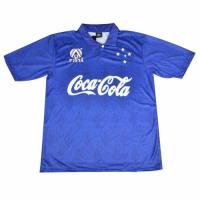 93/94 Cruzeiro EC Home Blue Soccer Jerseys Shirt