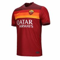 20/21 Roma Home Red Soccer Jerseys Shirt