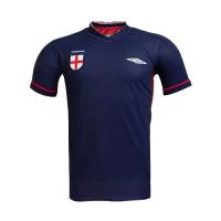 2002 England Blue Retro Training Shirt