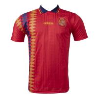 1994 Spain Home Retro Soccer Jerseys Shirt