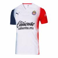 20/21 Chivas Guadalajara Away Red&Navy&White Jerseys Shirt
