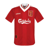 96/97 Liverpool Home Red Retro Soccer Jerseys Shirt