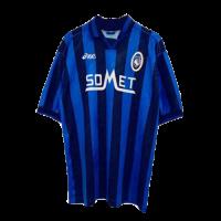 96/97 Atalanta BC Home Blue&Black Retro Soccer Jerseys Shirt