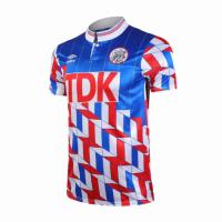 89/90 Ajax Away Blue&Red Retro Soccer Jerseys Shirt