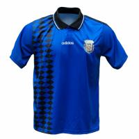 1994 World Cup Argentina Away Blue Retro Soccer Jerseys Shirt