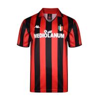 88/89 AC Milan Home Red Retro Soccer Jerseys Shirt