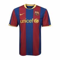 10/11 Barcelona Home Red&Blue Retro Soccer Jerseys Shirt