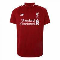 18-19 Liverpool Home Soccer Jersey Shirt