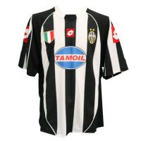 02/03 Juventus Home Black&White Soccer Retro Jerseys Shirt