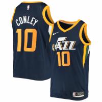 Men's Utah Jazz Mike Conley No.10 Nike Navy Swingman Jersey - Icon Edition