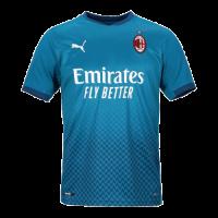 20/21 AC Milan Third Away Blue Soccer Jerseys Shirt