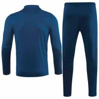 20/21 Ajax Navy Zipper Sweat Shirt Kit(Top+Trouser)