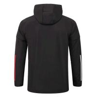 20/21 Bayern Munich Black Windbreaker Hoodie Jacket