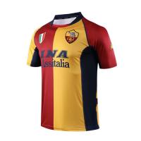 01-02 Roma Home Red&Yellow Soccer Retro Jerseys Shirt