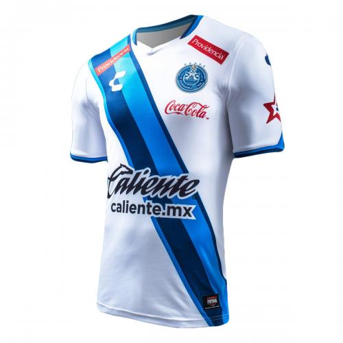 16-17 Puebla Home Soccer Jersey Shirt