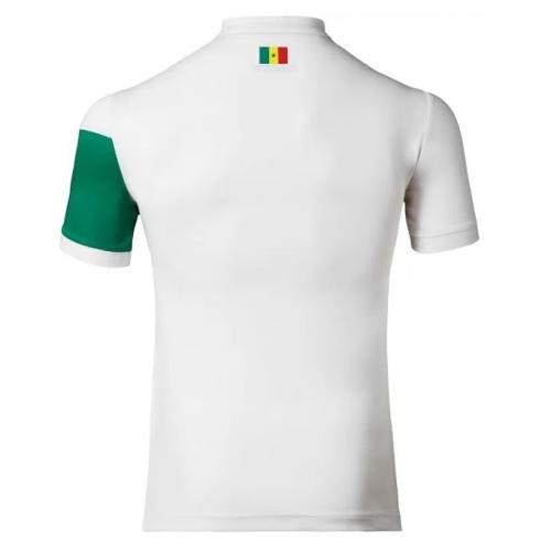 reputable site 6479a 8f3b0 2017 Senegal Away White Soccer Jersey Shirt