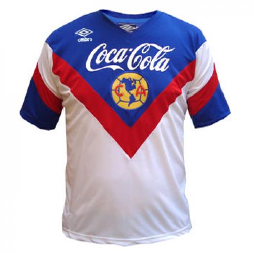 buy online 414f3 d695a 93-94 Club America Away Whirt Classic Retro Jersey Shirt