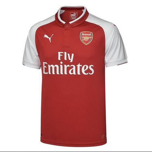 17-18 Arsenal Home Soccer Jersey Shirt - Cheap Soccer Jerseys Shop ... 0800165dc