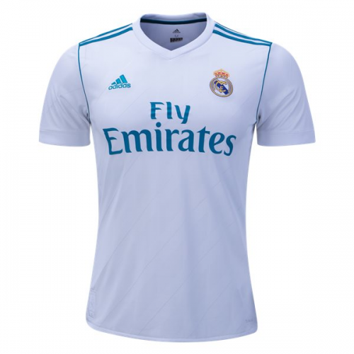 newest 9c534 44526 m.minejerseys.co   17-18 Real Madrid Home Soccer Jersey ...