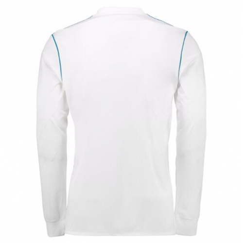 online store 9b266 e5488 m.minejerseys.vip | 17-18 Real Madrid Home White Long Sleeve ...