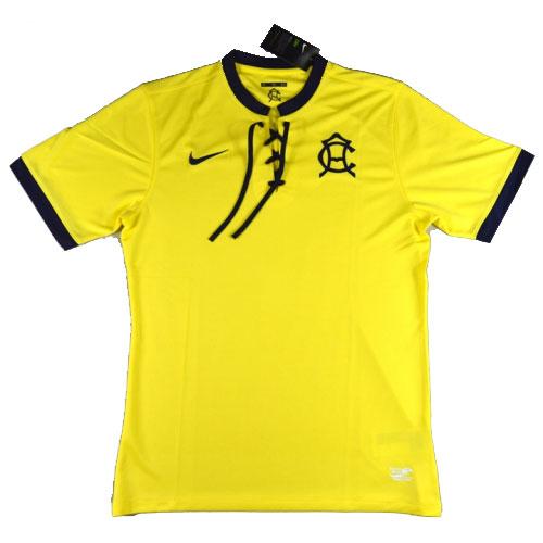 buy online b17fb c90a9 16-17 Club America 100-Yeas Yellow Anniversary Jersey Shirt ...