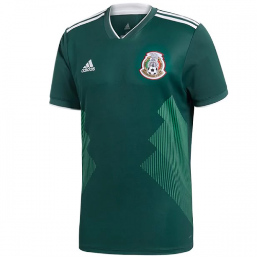 389098410 2018 World Cup Mexico Home Green Soccer Jersey Shirt - Cheap Soccer ...
