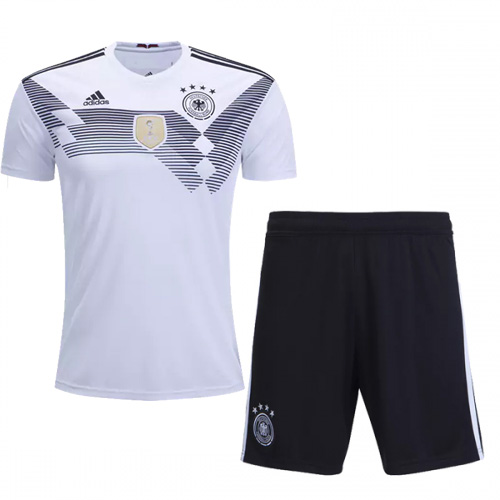 wholesale dealer 35a90 788da 2018 World Cup Germany Home Jersey Kit(Shirt+Short)