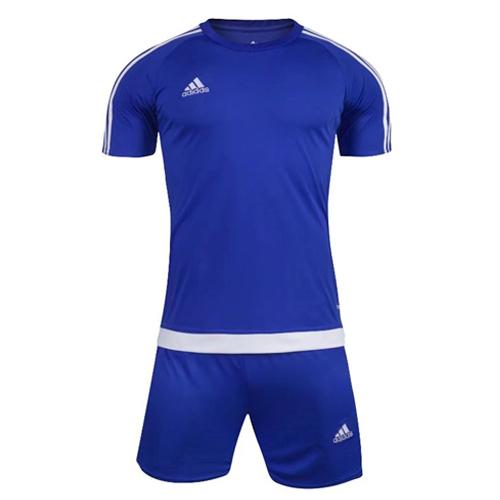 2c51ce7c0 1602 Customize Team Blue Soccer Jersey Kit(Shirt+Short) - Cheap ...