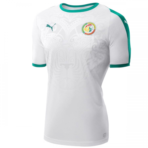 online store 204ca 65773 2018 World Cup Senegal Home White Soccer Jersey Shirt