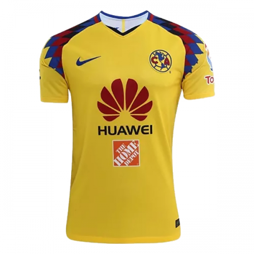 finest selection 983f3 eeac6 2018 Club America Third Away Yellow Soccer Jersey Shirt(Player Version)