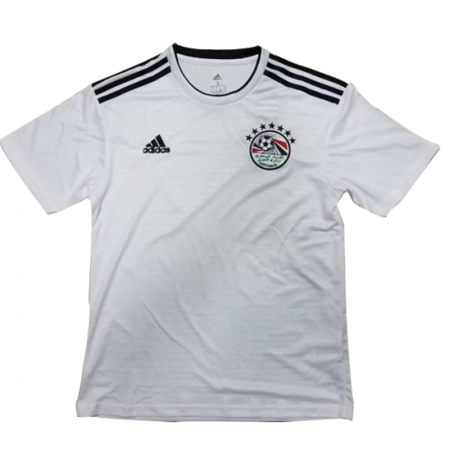 2018 World Cup Egypt Away White Soccer Jersey Shirt - Cheap Soccer ... 43bd9b700