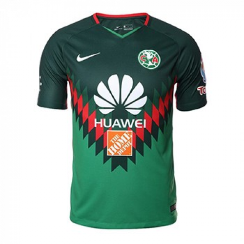 cheaper bccc9 1c18f 2018 Club America Fourth Away Green Soccer Jersey Shirt