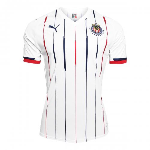 ea4bbcc5 18-19 Deportivo Guadalajara Away White Jersey Shirt - Cheap Soccer ...