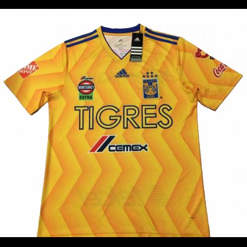 buy popular f6972 d65f7 18-19 Tigres UANL Home Soccer Jersey Shirt