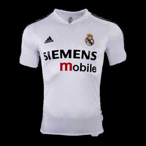 929b6058a43 04-05 Real Madrid Home Classic Retro Soccer Jersey Shirt - Cheap ...