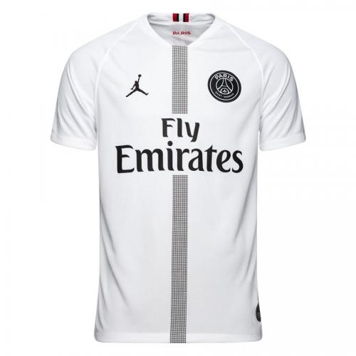 69978ee1f 18-19 PSG JORDAN 3rd Away White Soccer Jersey Shirt - Cheap Soccer ...