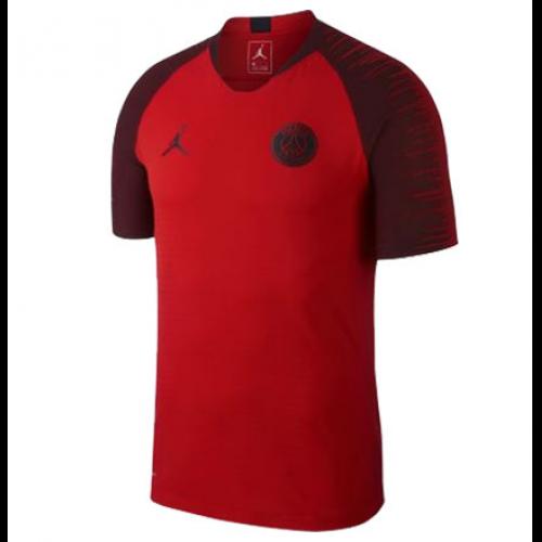 4148629ba 18-19 PSG JORDAN 3rd Away Red Training Jersey Shirt - Cheap Soccer ...