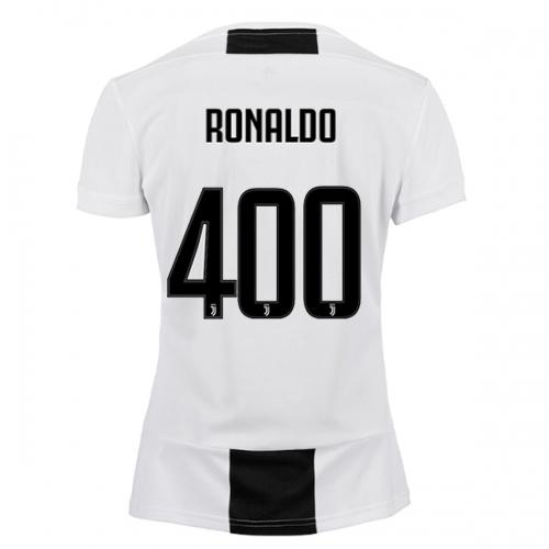 reputable site 88098 9f521 18-19 Juventus Home RONALDO #400 Soccer Jersey Shirt