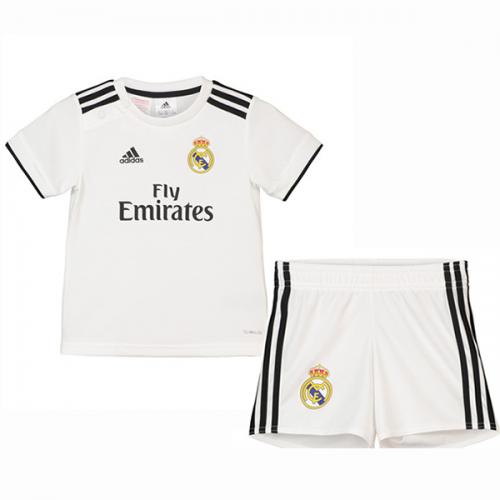a5866936753 18-19 Real Madrid Home Children's Jersey Kit(Shirt+Short) - Cheap ...
