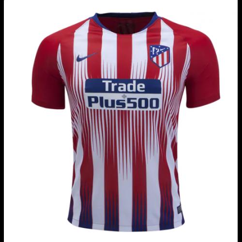 buy online 20db8 9377b 18-19 Atletico Madrid Home Soccer Jersey Shirt
