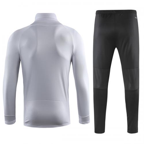 c91657c15 18-19 Juventus White Turtleneck Sweat Shirt Kit(Top+Trouser) - Cheap ...