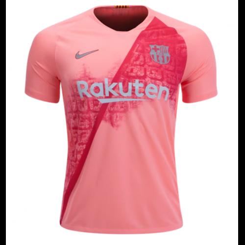 a0eeff9ea 18-19 Barcelona Third Away Pink Soccer Jersey Shirt - Cheap Soccer ...