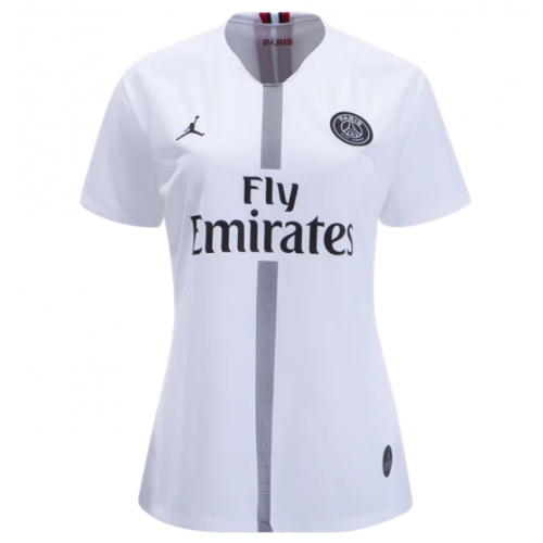9ca31866868 18-19 PSG JORDAN 3rd Away White Women's Soccer Jersey Shirt - Cheap ...