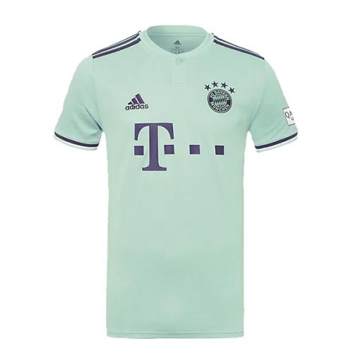 half off ddafe 33ff5 18-19 Bayern Munich Away Mint Green Jersey Shirt - Cheap ...