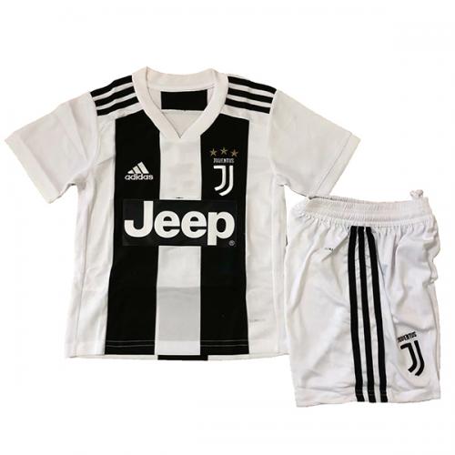 new product 7e4d5 431f4 18-19 Juventus Home Children's Jersey Kit(Shirt+Short)
