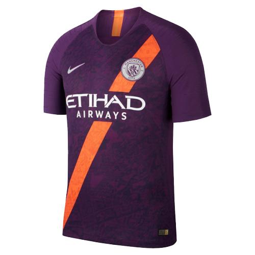 481e7ec1e 18-19 Manchester City Third Away Purple Soccer Jersey Shirt - Cheap ...