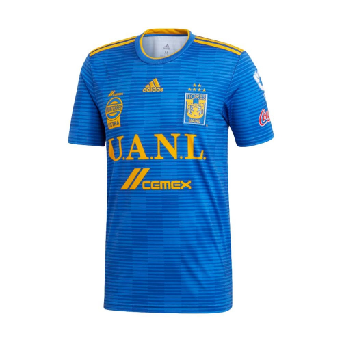 46ca84ee90a 18-19 Tigres UANL Away Blue Soccer Jersey Shirt - Cheap Soccer ...